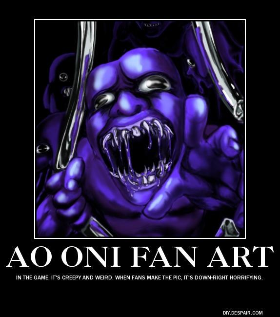 Fan View On Ao Oni By Vampirequeeneffeffia On Deviantart