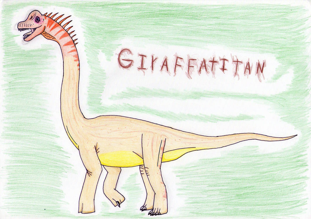 Giraffatitan by Pyroraptor42