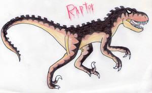 VenomEXsoldier Raptor by Pyroraptor42