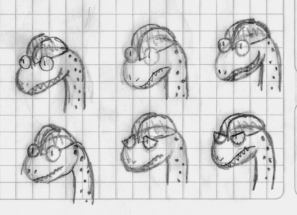Expresiones de Dilo by Pyroraptor42