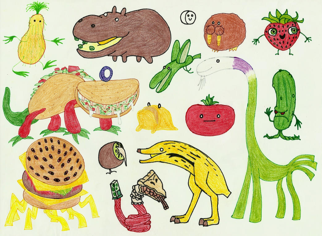 Cloudy with a chance of meatballs 2 tacodile coloring pages