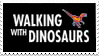 Original BBC Walking with Dinosaurs series Stamp