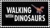 Original BBC Walking with Dinosaurs series Stamp by Pyroraptor42