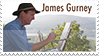 James Gurney Stamp by Pyroraptor42