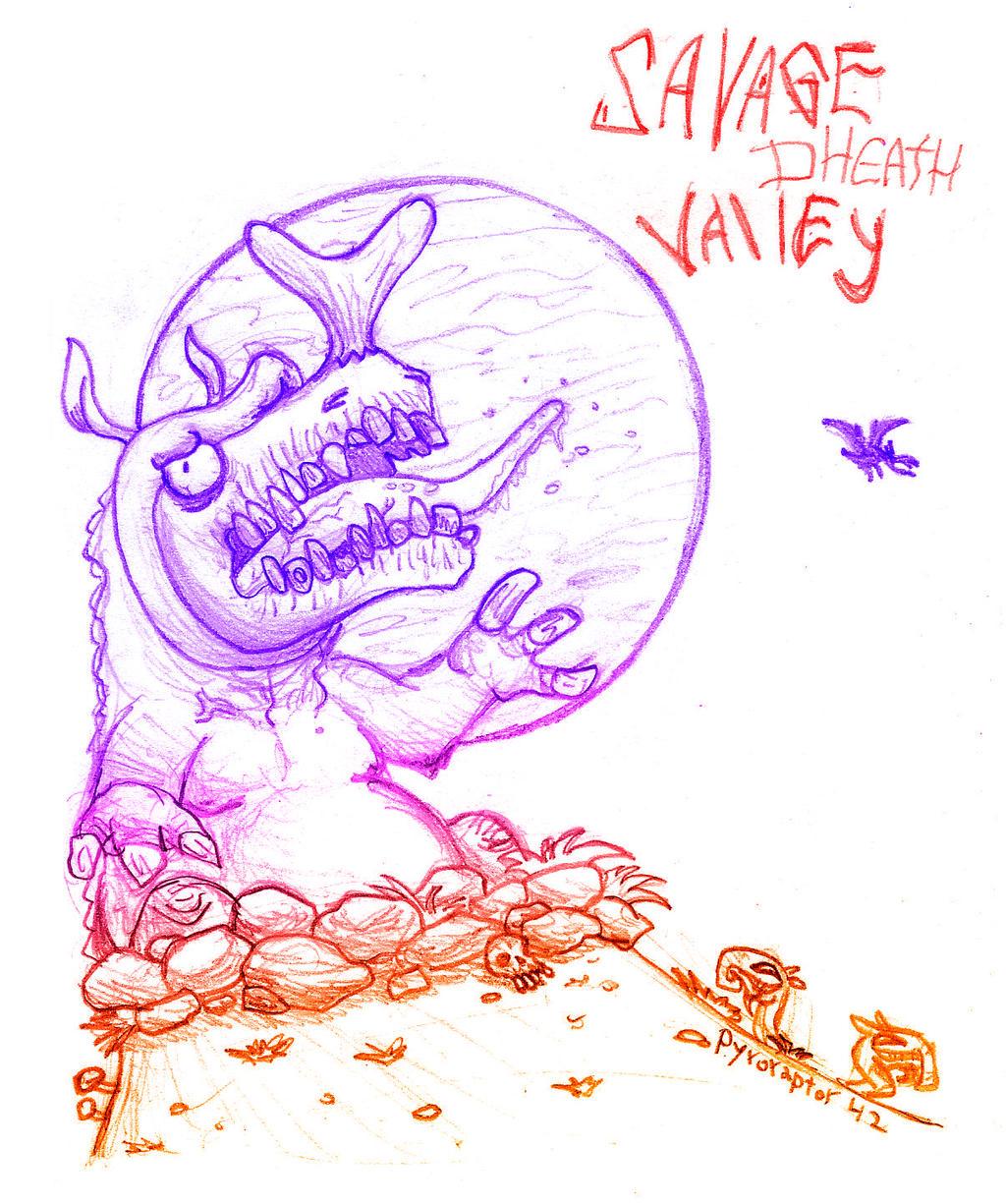 Savage Death Valley by Pyroraptor42