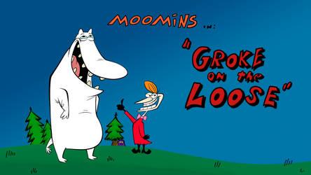 Moomins ala Cow n Chicken Title Card