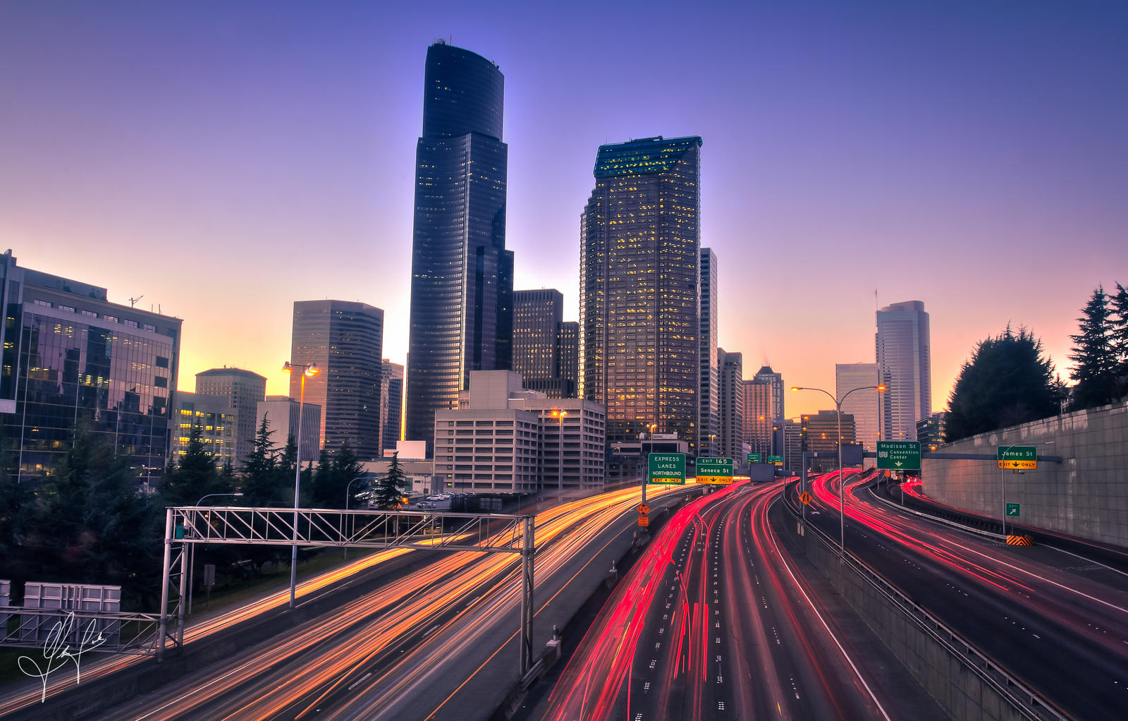 Seattle Rush Hour by ThatFunk