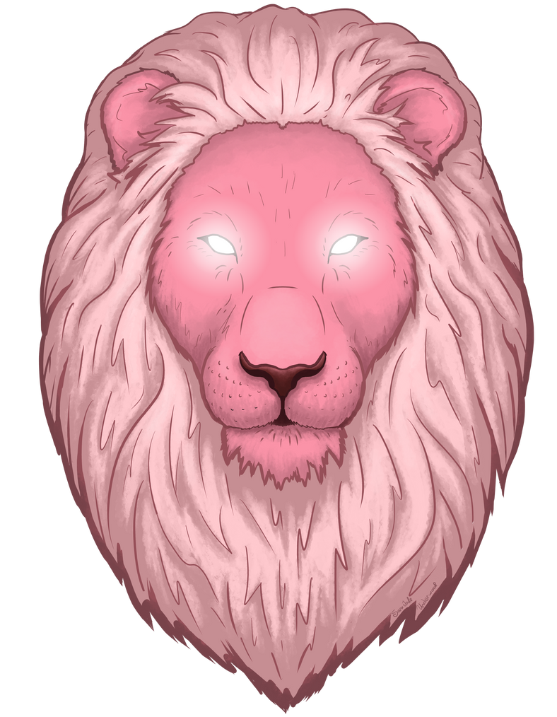 Pink, magical lion is the best lion. From Steven Universe, a show that I can not recommend enough. Shirts available here: www.sunfrog.com/148937555-1250…