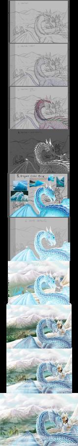 Dragon Sketch To Finish