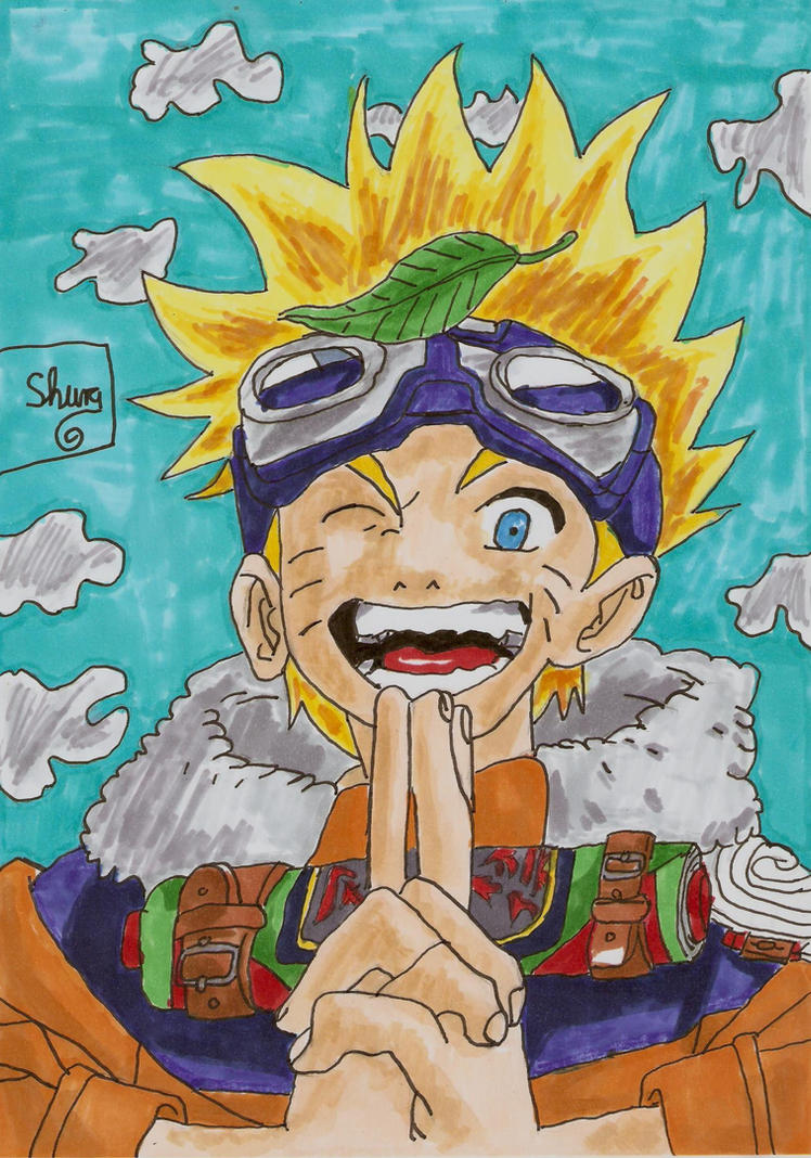 Uzumaki Naruto Chaos-Ninja number one by ShuraChan