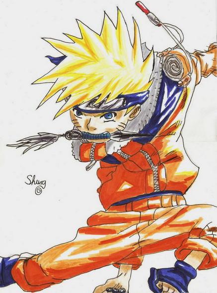 Naruto by ShuraChan