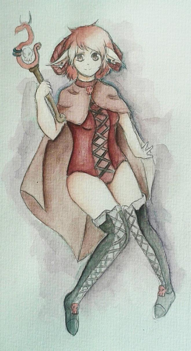 Vienetta [Art trade] by Dodukeks