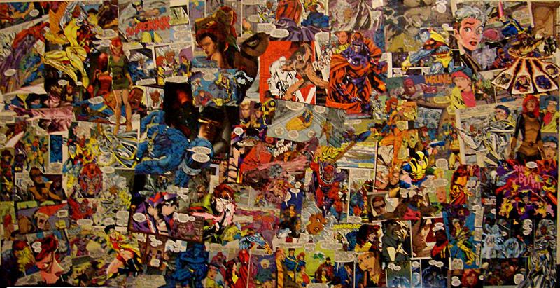 X-Men Fan Love Collage by SaturnsRevolution