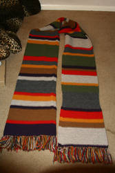 Dr. Who Scarf of Zen and Doom