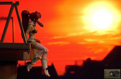 Yoko Sunset by neueziel