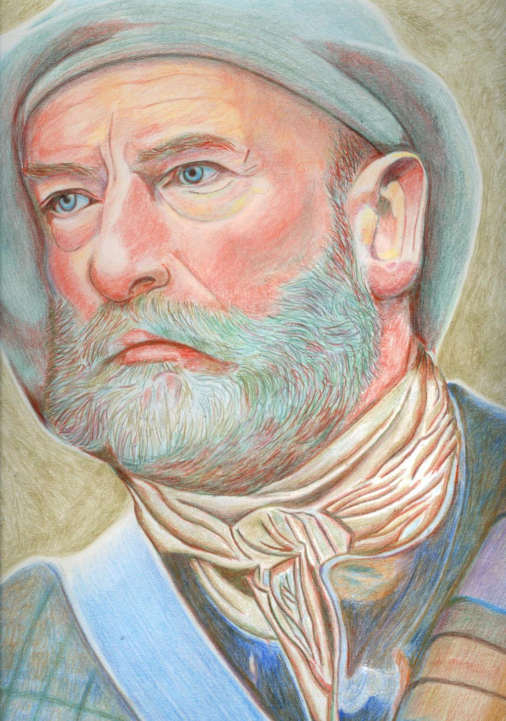 Dougal MacKenzie - Outlander by Clashnessie