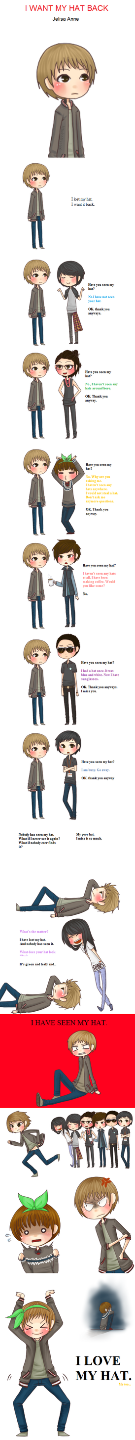 'I Want My Hat Back'- B1A4 Ver. by jaljello
