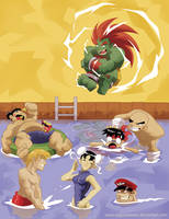 Street Fighter Tribute by AugustoSasa
