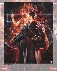 WrestleMania - 35 Years by PRKRDesigns