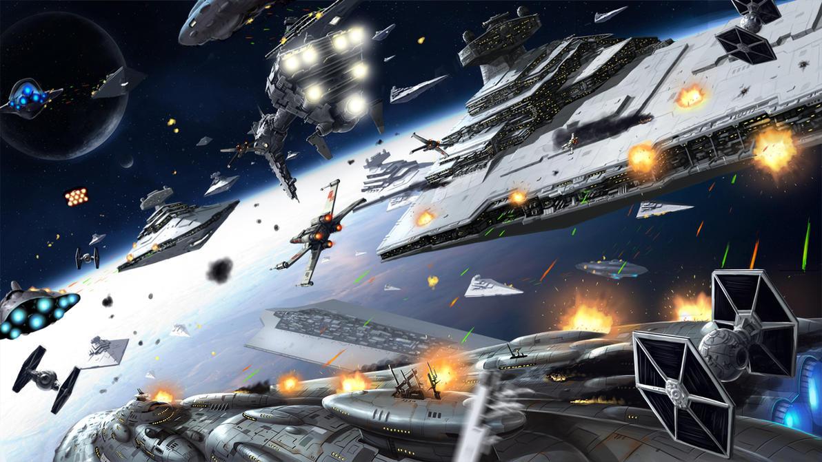 Starwars Battle Of Jakku By Kimbbq On DeviantArt