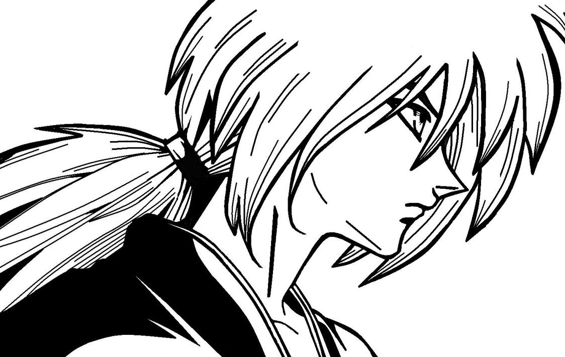 coloring pages for rurouni kenshin - photo#33