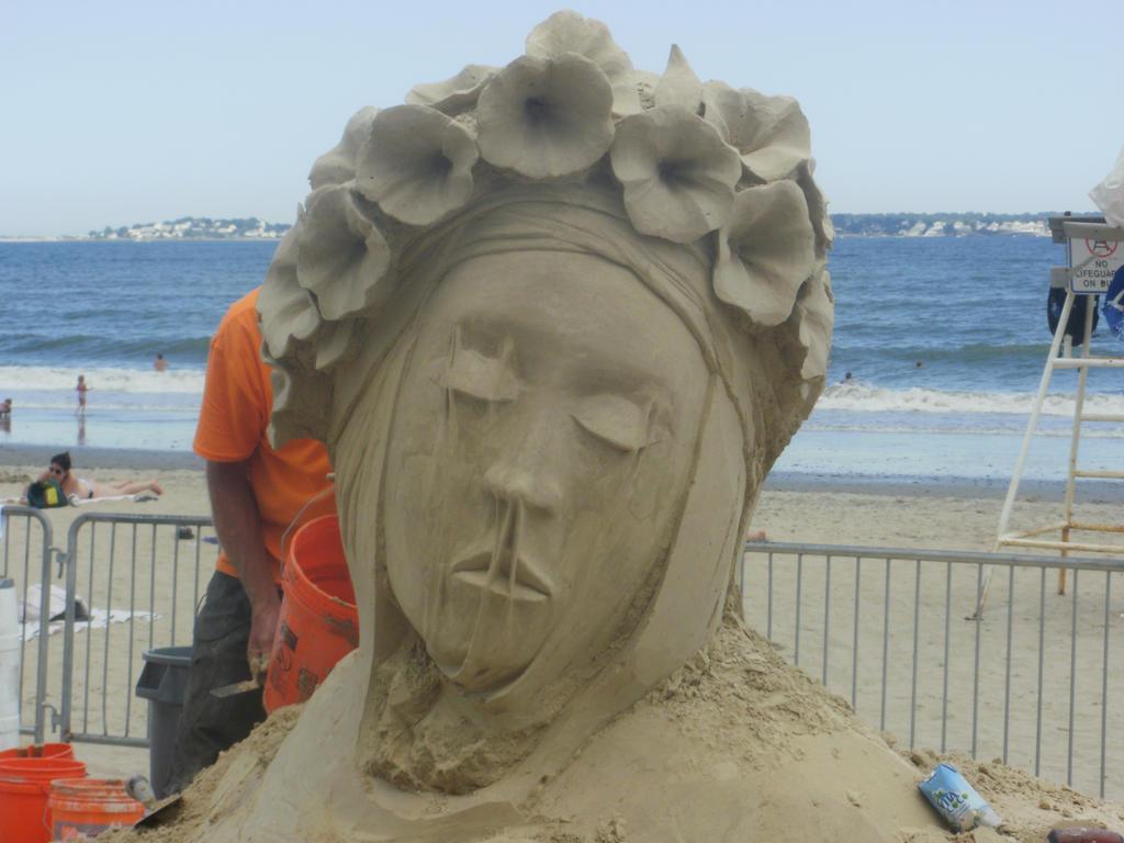 Sand Geisha by kml91225