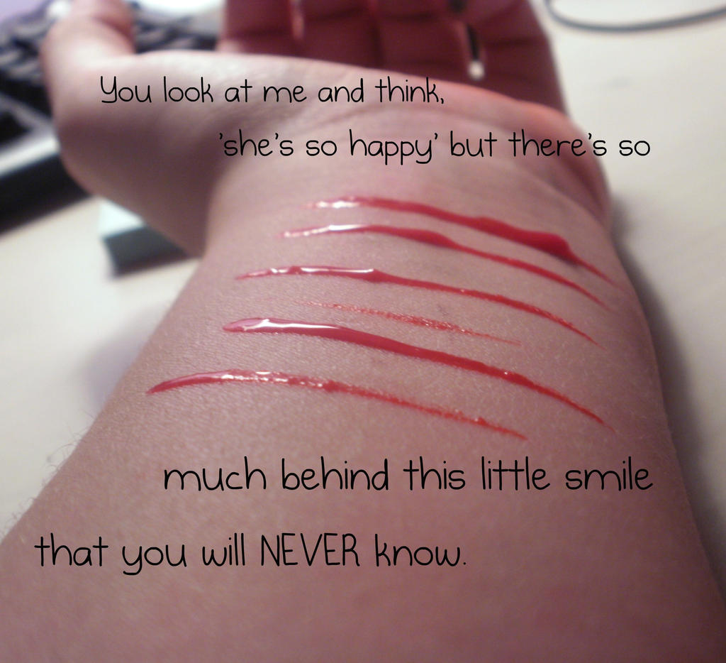 Quotes About Smiles Behind This Smilekml91225 On Deviantart
