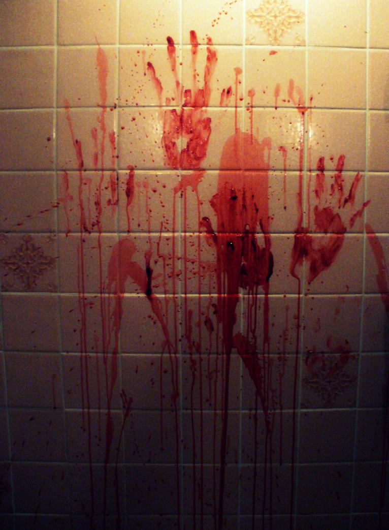 Image result for bloody handprint on wall