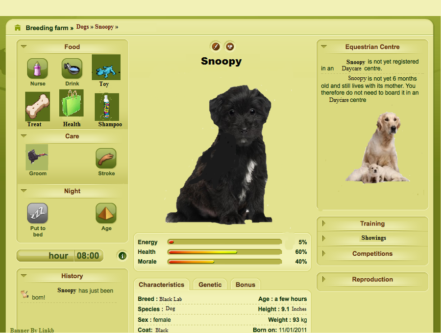 Virtual Dog Breeding Games Like Howrse