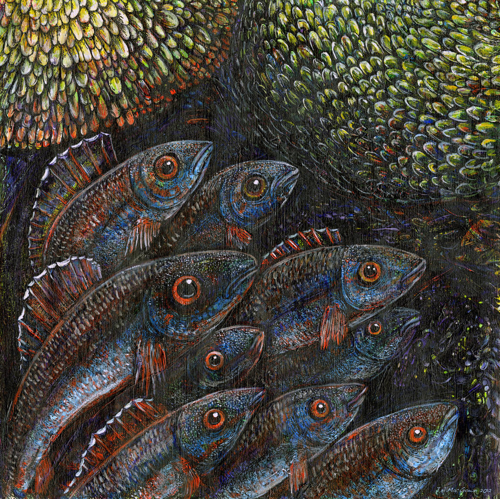 Inquisitive Fish by JoeMacGown
