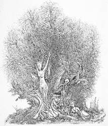 tortured woman tree by JoeMacGown