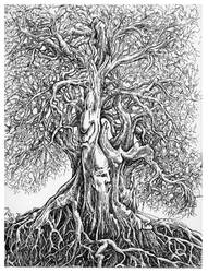 weird tree study by JoeMacGown