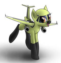 An-178 plane pony by thisisjayaitch