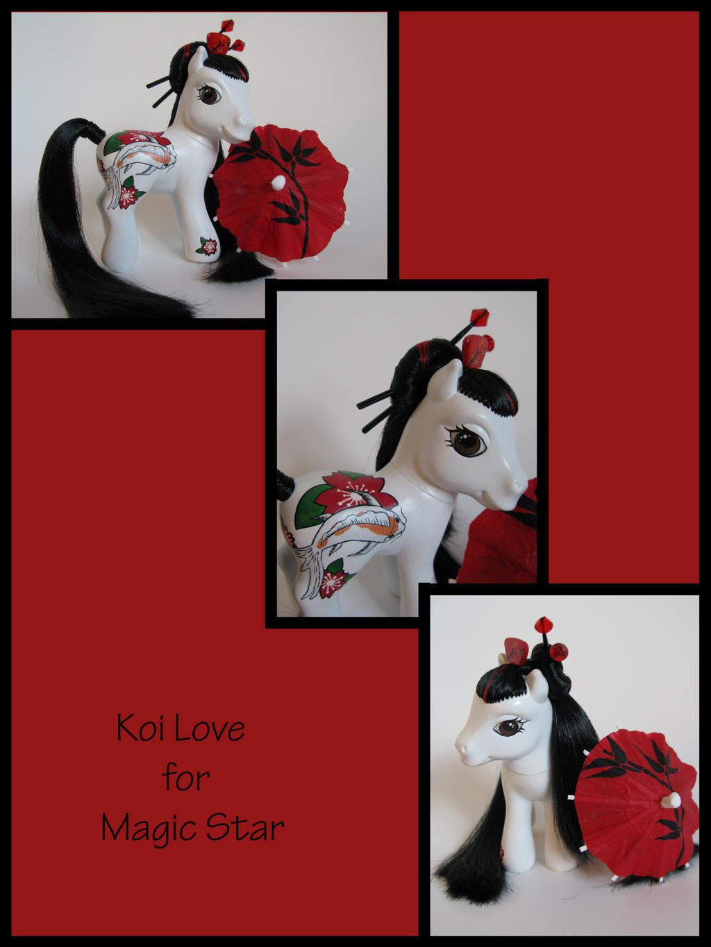 Koi Love for Magic Star by Sweetlittlejenny