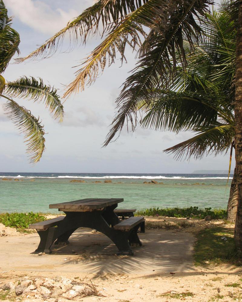 Seaside Seat by Sweetlittlejenny