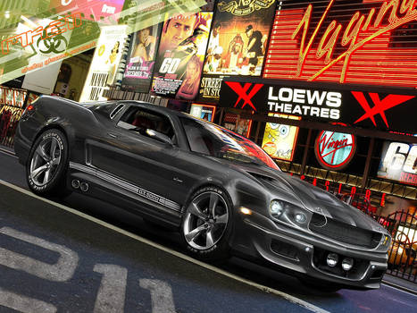 Shelby GT5000 Eleanor Concept