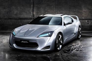 Toyota Supra 2011 Concept v1 by MK211