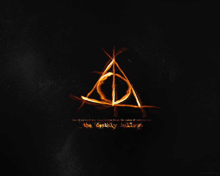 gallery for deathly hallows symbol wallpaper