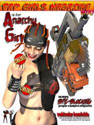 Bad Girls Magazine - Anarchy Girl by RenderPretender