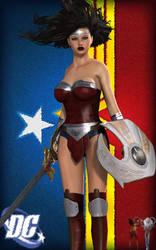 No Small Wonder Woman by RenderPretender