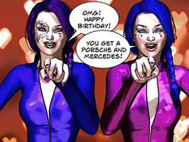 Happy Birthday by RenderPretender