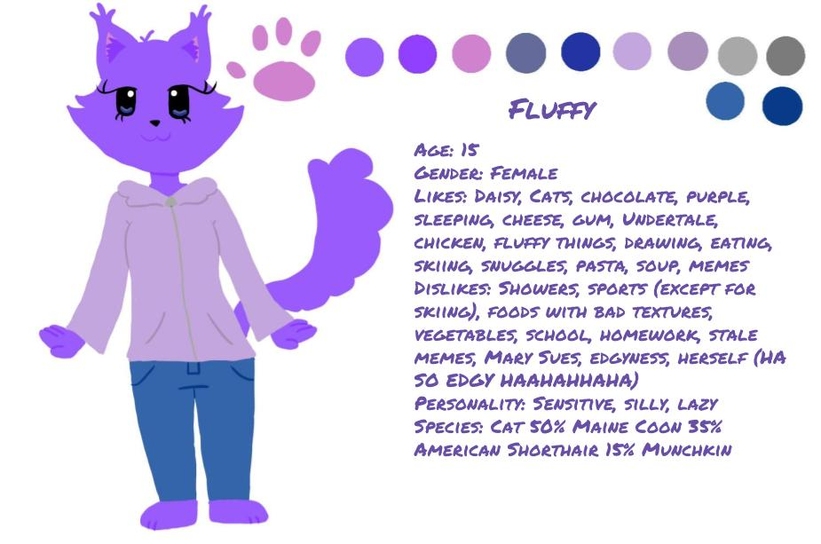 New Fluffy Ref by BuffydaSLAYAH17