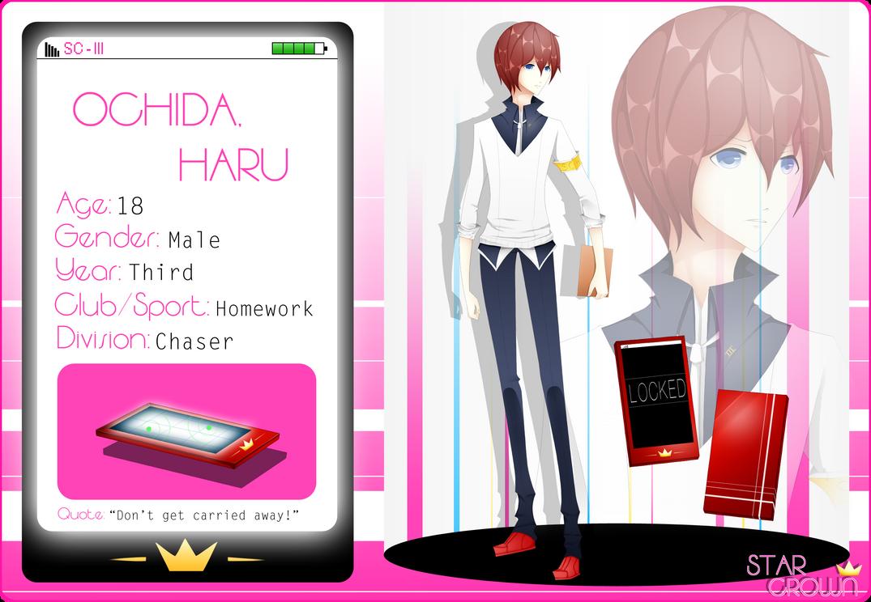 SC: Haru Ochida (App Ver.1) by Rienu