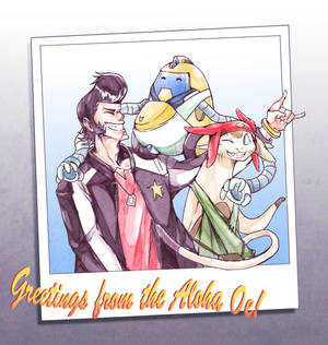 [SPACE DANDY] Family Photo