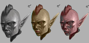 Goblin portraits