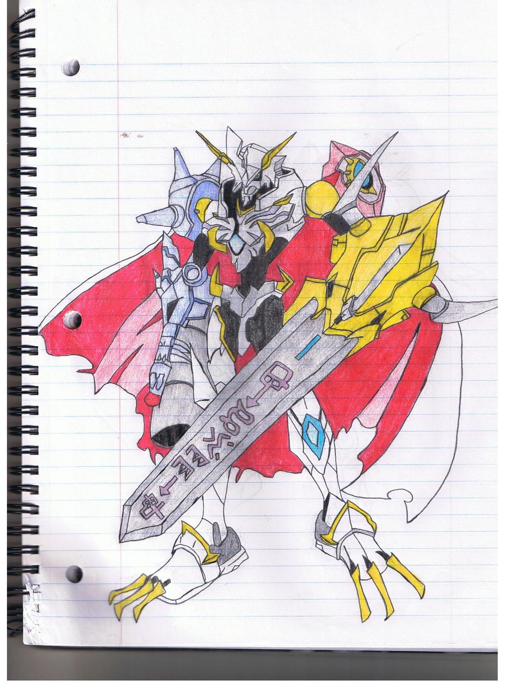 Omnimon X by Gregzar