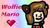 Wolfie Mario Stamp ^^ by BabyAbbieStar