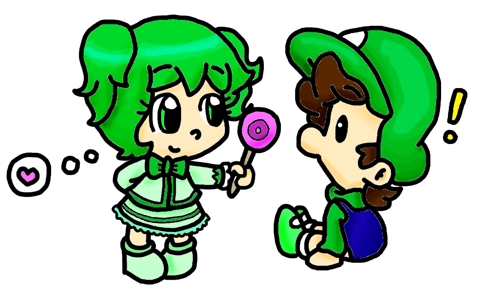 pc baby isa and baby luigi by babyabbiestar
