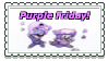 Purple Friday Stamp by BabyAbbieStar