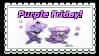 Purple Friday Stamp by BabyAbbieStar